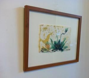 Abundant Life - Fullness I Paper, encaustic, oil pastel, pen Copyright K. Chaussabel