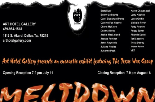 Meltdown Invitation - Art Hotel