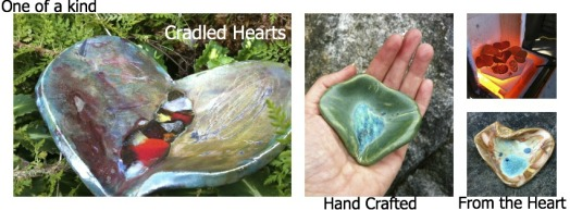 cradled heart one of a kind