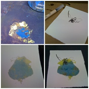 The making of a monotype K. Chaussabel